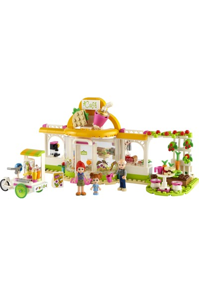 LEGO® Friends Heartlake City Organik Kafe 41444 Yapım Seti; Modern Yaşam Setinde LEGO Friends Mia Bulunur (314 Parça)
