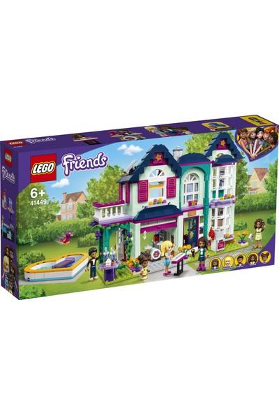 LEGO® Friends Andrea'nın Aile Evi 41449 - Çocuklar için Minyatür Bebek Oyuncak Yapım Seti (802 Parça)