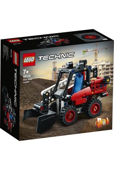LEGO® Technic Nokta Dönüşlü Yükleyici 42116 - Çocuklar için İnşaat Kamyonu Oyuncak Yapım Seti (139 Parça)