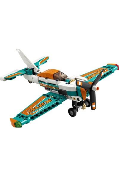 LEGO® Technic Yarış Uçağı 42117 Model Uçak Oyuncaklarını Seven Erkek ve Kız Çocuklara Yönelik Yapım Seti (154 Parça)
