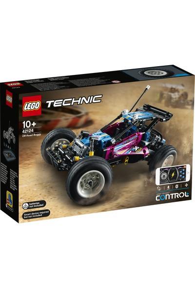 LEGO® Technic Arazi Jipi 42124 - Çocuk ve Yetişkinler için Koleksiyonluk Kumandalı Retro Jip Oyuncak Araba Yapım Seti (374 Parça)