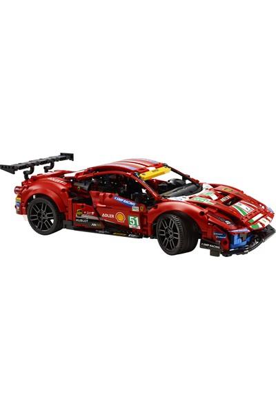 """LEGO® Technic Ferrari 488 GTE """"AF Corse #51"""" 42125 - Çocuk ve Yetişkinler için Koleksiyonluk Oyuncak Araba Yapım Seti (1677 Parça)"""