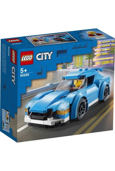 LEGO® City Spor Araba 60285 - Çocuklar için Oyuncak Yapım Seti (89 Parça)