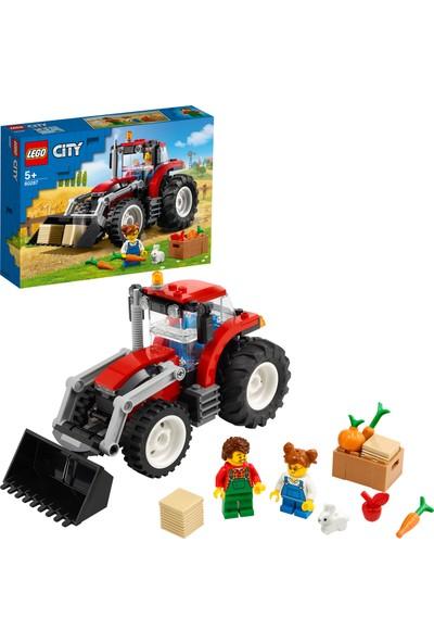 LEGO® City Traktör 60287- Çocuklar için Oyuncak Yapım Seti (148 Parça)