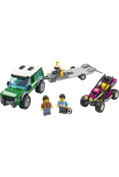 LEGO® City Yarış Arabası Taşıma Aracı 60288 - Çocuklar için Oyuncak Yapım Seti(210 Parça)