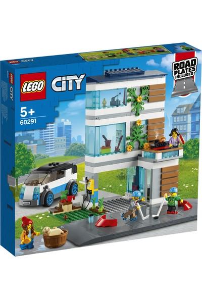 LEGO® City Aile Evi 60291 - Çocuklar için Oyuncak Yapım Seti(388 Parça)