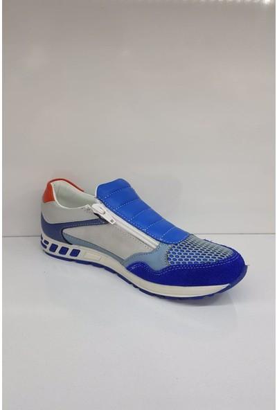 Cas 3114 Deri Erkek Çocuk Spor Ayakkabı