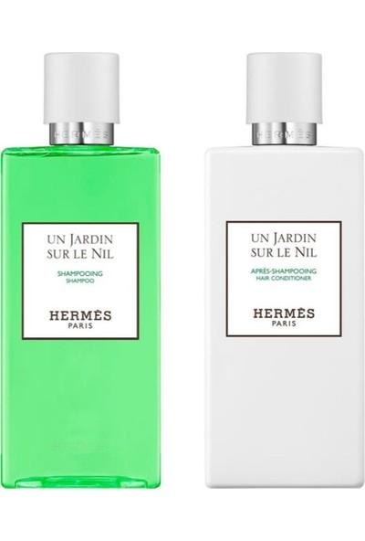 Hermes Un Jardın Sur Le Nıl 2'li Saç Bakım Seti 2x200 ml
