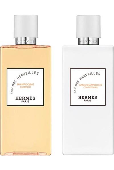 Hermes Eau Des Merveilles 2'li Saç Bakım Seti 2x200 ml