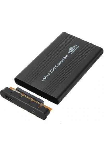 """Nivatech USB 2.0 External 2.5"""" Ide USB Harici Harddisk Kutusu Deri Kılıflı"""