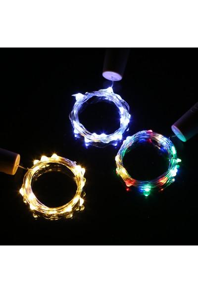 Mbw 4.5V 0.9W 1.5 m 15 LED Bakır Tel Peri Dize Işık (Yurt Dışından)