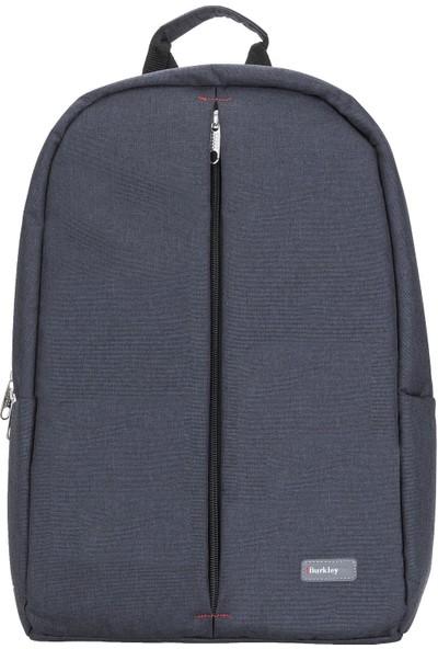 """Burkley Austin 15.6"""" Notebook Laptop Sırt Çantası Siyah"""