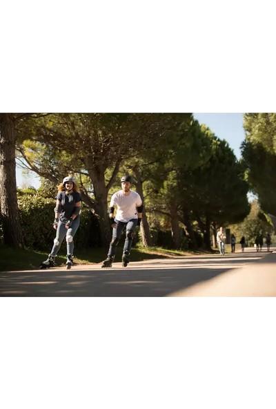 Oxelo Paten Kaykay Bisiklet Koruma Seti Dizlik Dirseklik Bileklik Meridyendukkan Yetişkin 3lü Koruma Ekipman