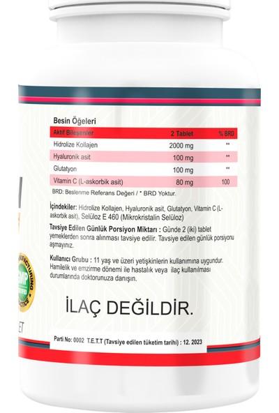 Nevfix Collagen ( Kolajen) Hyaluronic Acid 180 Tablet