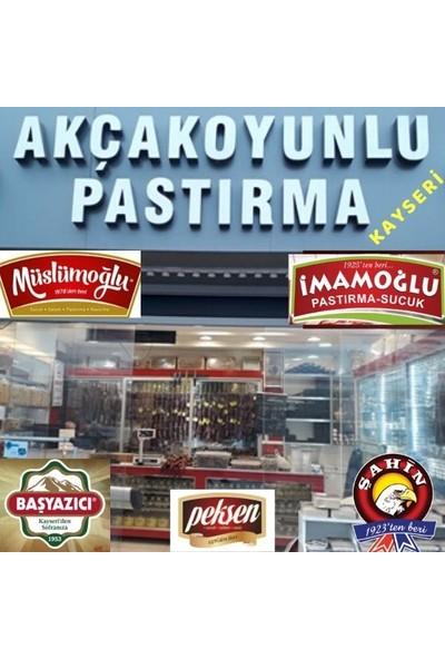 Akçakoyunlu Antrikot Çemensiz Pastırma - Kayseri 1 kg
