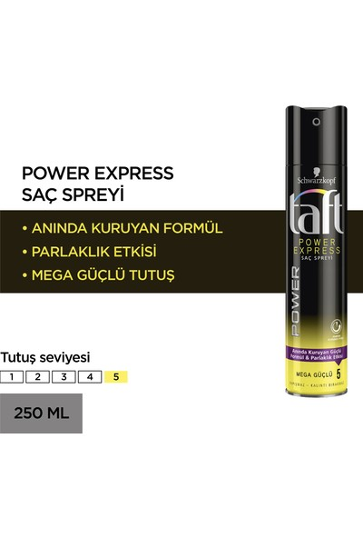 Taft Power Express Sprey 250 ml