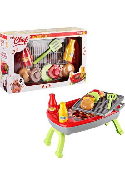 Kanz Mr. Chef Oyuncak Barbekü ve Mangal Seti Eğitici Oyuncak - Yeni