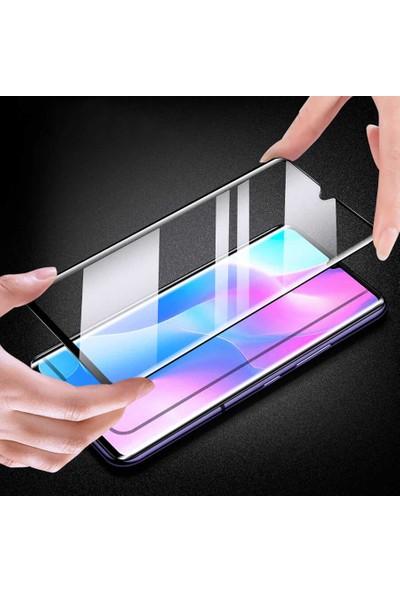 Vendas Xiaomi Mi Note 10 Lite Tam Kaplama Cam Ekran Koruyucu Siyah
