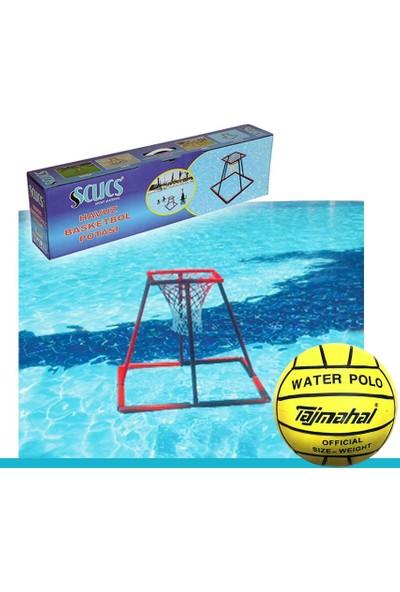 Scucs Havuz Basketbol Potası Havuz Basketbolu + Su Topu