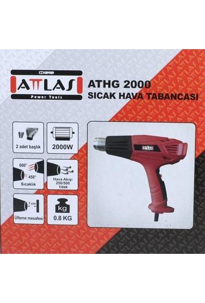 Attlas Athg 2000 Sıcak Hava Tabancası 2000W