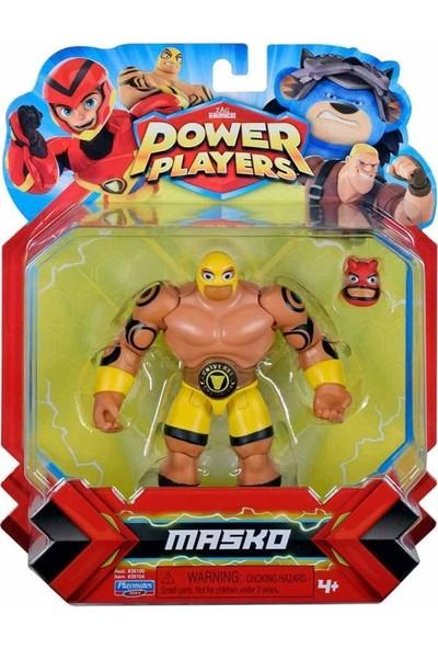 Giochi Preziosi Power Players Aksiyon Figürler S1 PWW01000 - Masko