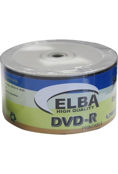 Elba Prıntable 4.7 GB/120 Mın 16X Shrınk Dvd-R CD Kutusu