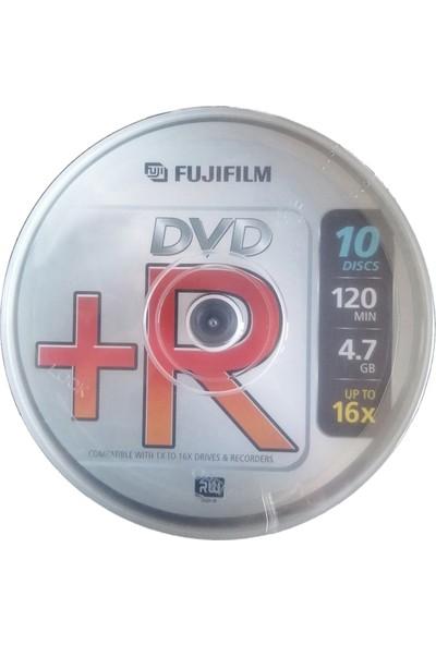 Fujifilm DVD+R 16X 4.7 GB C-Box - 10 Adet
