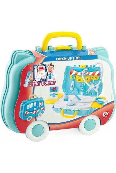 Bayraktar Oyuncak Çantalı Doktor Seti Oyuncak Doktor Seti Eğitici Doktor Seti