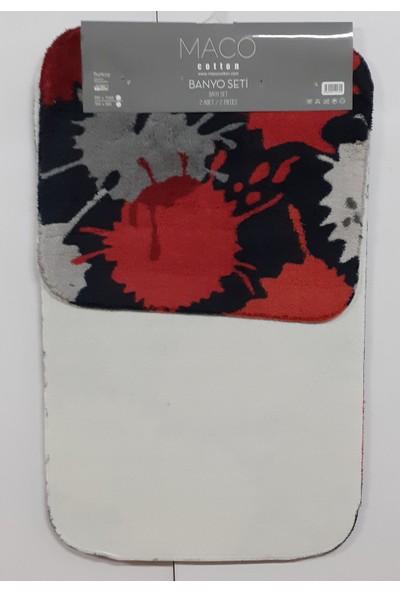 Maco Cotton Post Paint 2 Li Banyo Paspas Seti