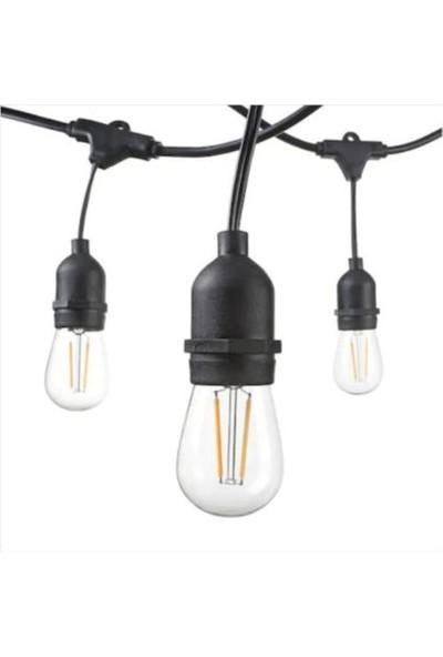 Horoz Elektrik Dekoratif 10M E-27 Duylu Dış Mekan Ip LED Bahçe Aydınlatma