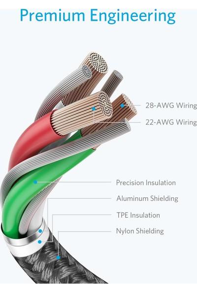 Anker 1.8 m Iphone Premium Lightning Kablosu 2'li Apple Mfi Setifikalı (Yurt Dışından)