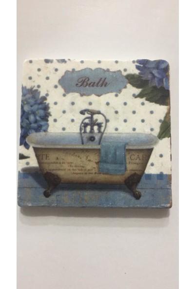 Gerok 10 x 10 cm Doğaltaş Banyo Gider Kapagı