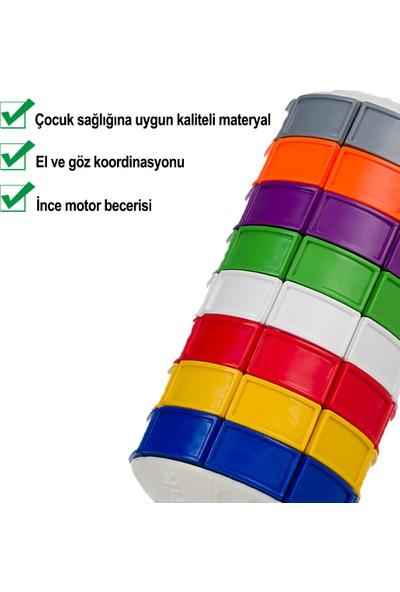 Renkmatik Yeni Nesil Silindirik Zeka Küpü Oyuncağı