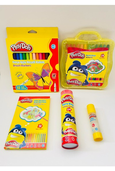 Play-Doh Okul Boyama Seti 5'li