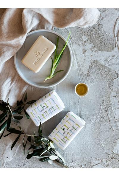 Milavanda 3'lü Aloe Vera Katı Sabun Seti