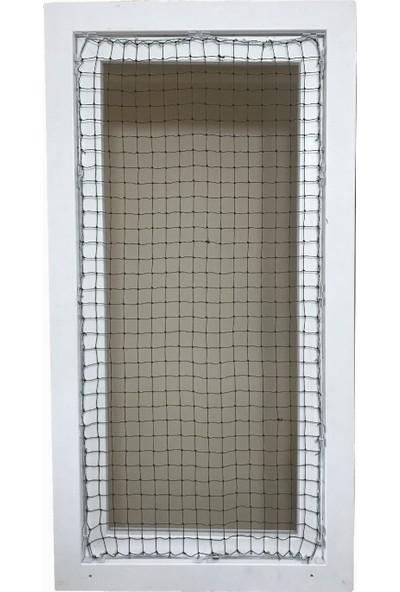 Winblock Pets Kedi Güvenlik Ağı Fransız Balkon Kapısı Kutusu 80X220