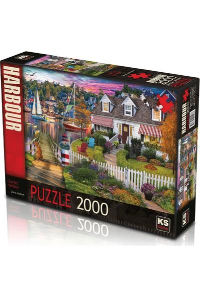 Ca Games Ks Games 2000 Parça Charles Harbour Puzzle