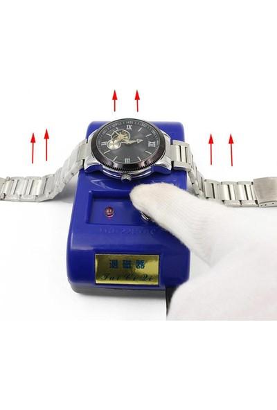 Chrono Elektrikli Cımbız Maşa Saat Demagnetizer Makinesi Manyetik Alıcı