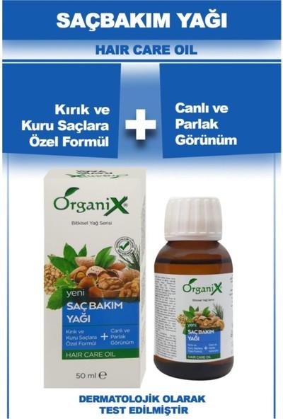 Organix Saç Bakım Yağı 50 ml x 3 Adet