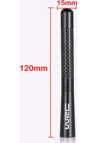 Wrc Oto 12 cm Sport Araç Anten
