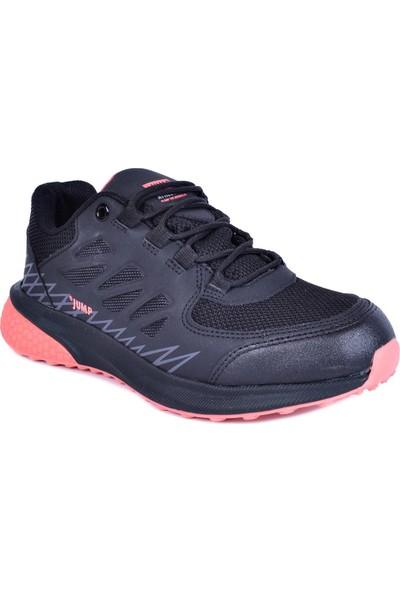 Jump Siyah Kadın Su Geçirmez Spor Ayakkabı 25740