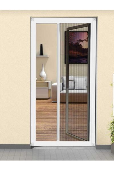 Lemur Sineklik Plise ( Akordiyon - Sürgülü - Katlanır ) Renkli Kapı Sineklik Yatay