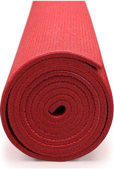Amazonbasics Kaymaz Yoga Mat Minderi Kırmızı