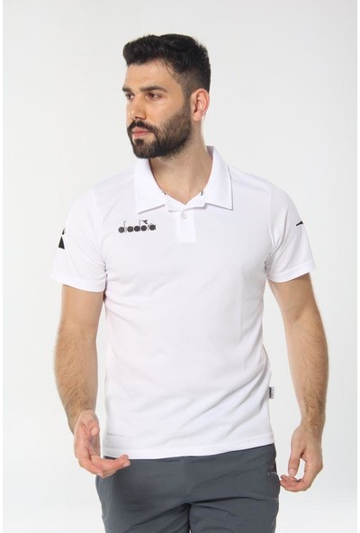 Diadora Nacce Kamp T-Shirt Beyaz
