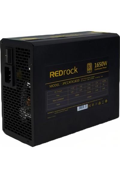 Redrock 1650 W 80+ Gold-DİSTRİBÜTÖR GARANTİLİ-6 ADET EKRAN KARTI TAKILABİLİR-6+2PIN