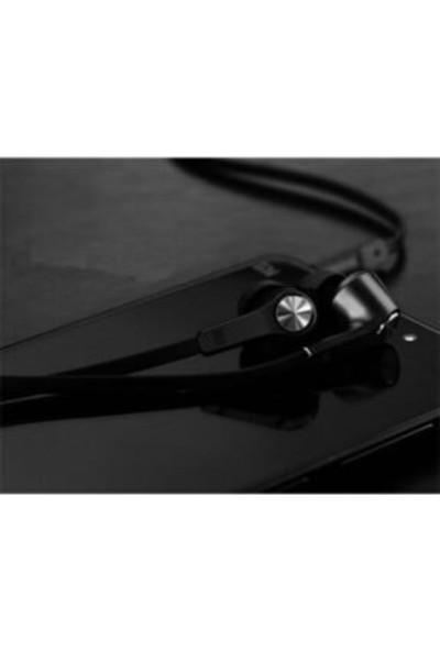 Xiaomi Piston Basic Edition Mikrofonlu Kulakiçi Kulaklık Siyah Yassı Kablolu (Disbritör Garantili)