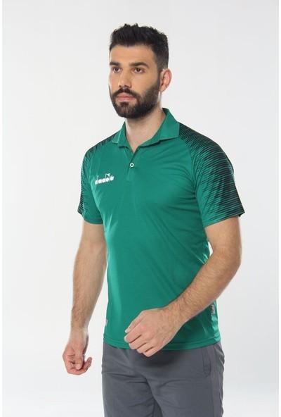 Diadora Ritim Kamp Polo T-Shirt Yeşil