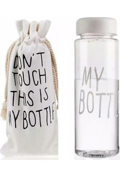 My Bottle Detoks Cam Matara Kılıflı 500 ml Beyaz