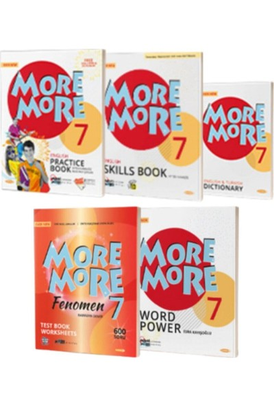 Kurmay Elt More&More 7. Sınıf 5'li Set