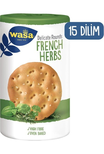 Wasa Rounds French Herbs 205 gr